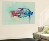 1968 Dodge Charger Wall Mural by  NaxArt