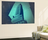 Chrysler Building Wall Mural by  NaxArt
