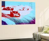 Le Mans Racing Laguna Seca Wall Mural by  NaxArt