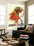 Ferrari Girl Wall Mural by  NaxArt