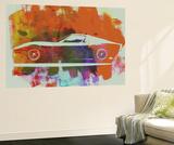 Lamborghini Miura Side 2 Wall Mural by  NaxArt