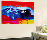 Maserati on the Race Track 1 Wall Mural by  NaxArt
