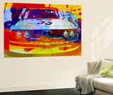 Bmw Racing Watercolor Wall Mural by  NaxArt