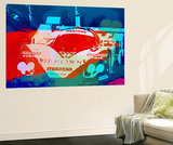 Mazda Le Mans Wall Mural by  NaxArt