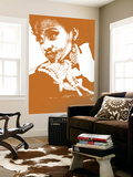 Aisha Brown Wall Mural by  NaxArt