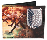 Attack On Titan Bi-Fold Wallet Wallet