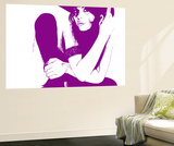 Vera Purple Wall Mural by  NaxArt