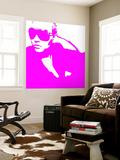 Niki Pink Wall Mural by  NaxArt