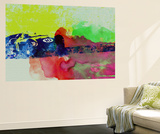 Maserati on the Race Track 2 Wall Mural by  NaxArt