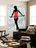 Map And Dance Wall Mural by  NaxArt