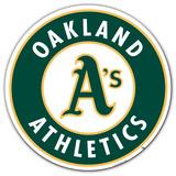 MLB Oakland Athletics Vinyl Magnet Magnet