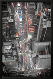 New York Times Square Lights Prints