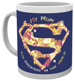 Superman Mum Greatest Mug Taza