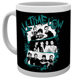 All Time Low Stacked Photos Mug