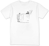 """And don't go whining to some higher court."" - New Yorker T-Shirt Shirts by Al Ross"