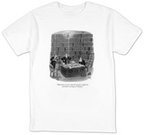 """What burns me up is that the answer is right here somewhere, staring us i"" - New Yorker T-Shirt T-shirts by Robert J. Day"