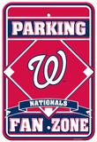 MLB Washington Nationals Plastic Parking Sign Wall Sign