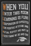 Welcome- New Classroom Motivational Poster Print