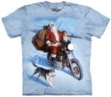 Santa Biker T-shirts