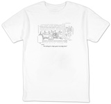 """I'm looking for a hedge against my hedge funds."" - New Yorker T-Shirt Shirt by Robert Mankoff"