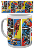 DC Comics Justice League Grid Mug Mug