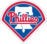 MLB Philadelphia Phillies Vinyl Magnet Magnet