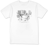 """I've called the family together to announce that, because of inflation, I"" - New Yorker T-Shirt T-Shirt by Joseph Farris"