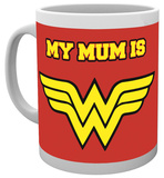 Wonder Woman My Mum Is Wonder Woman Mug Taza