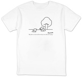 """My advice is to learn all the tricks you can while you're young."" - New Yorker T-Shirt T-Shirt by Charles Barsotti"