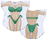 Shamrock Bikini Cover-Up T-shirts