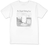 """The Perfect Holiday Card"" - New Yorker T-Shirt Shirts by Roz Chast"