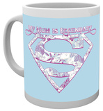 Superman Mum Legendary Mug Taza