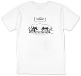 """My God, do you realize the year's half over?"" - New Yorker T-Shirt Shirt by Eldon Dedini"