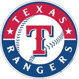 MLB Texas Rangers Vinyl Magnet Magnet