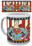 DC Comics Superman Vintage Mug Mugg
