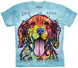 Youth: Dog Is Love Shirts