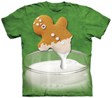 Youth: Gingerbread Dunk Attack Shirts