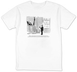 """Before we begin today, may I say that both my client and I were astonishe"" - New Yorker T-Shirt T-Shirt by James Stevenson"