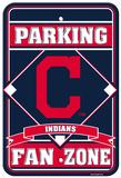 MLB Clevelands Indians Plastic Parking Sign Wall Sign