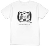 """I wish you a happy holiday, Ed, even though the leading indicators don't "" - New Yorker T-Shirt T-Shirt by Henry Martin"