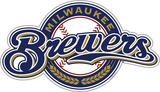 MLB Milwaukee Brewers Vinyl Magnet Magnet