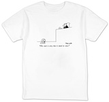 """The court is sorry that it raised its voice."" - New Yorker T-Shirt Shirts by Charles Barsotti"