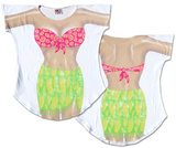 Tropical Girl Cover-Up Shirts
