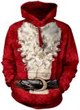 Hoodie: Santa Suit Pullover Hoodie
