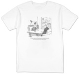 """I'll have someone from my generation get in touch with someone from your "" - New Yorker T-Shirt Shirts by Peter Steiner"