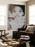 Natasha Brown Wall Mural by  NaxArt