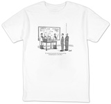 """It's designed to generate electricity by moving with fluctuations in the "" - New Yorker T-Shirt Shirt by Tom Cheney"