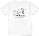 """Good news, honey seventy is the new fifty."" - New Yorker T-Shirt T-Shirt by Victoria Roberts"