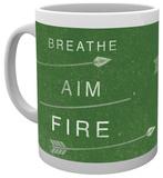 Arrow Breathe Aim Fire Mug