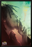 Bob Marley Smoking Lights Prints